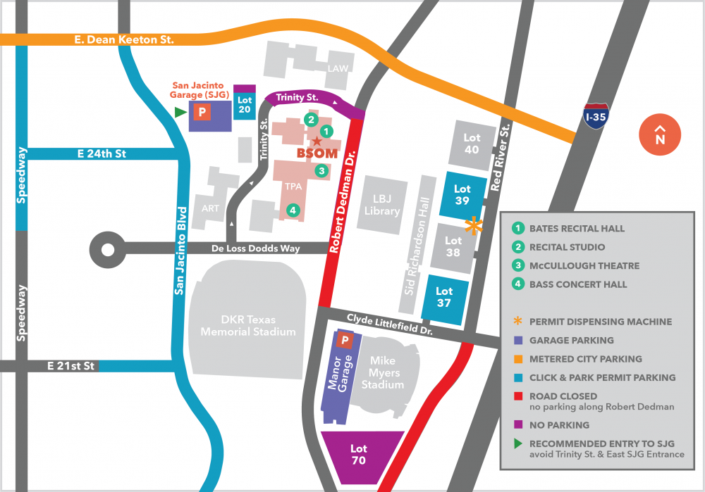 map of constructino on campus