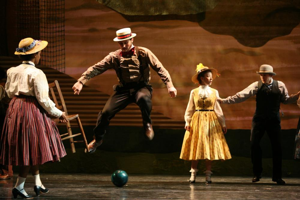"""Adventures In Motion"" (2009), directed by David Justin and Yacov Sharir; Photo: Amitava Sarkar"