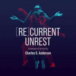 square version of digital recurrent unrest graphic with dancers