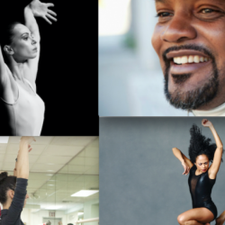 collage of dance award winners including rennie harris